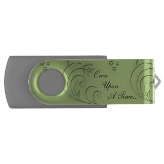 Once Upon A Time 8 GB Swivel USB Flash Drive