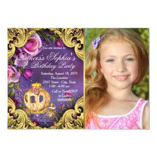 Once Upon A Time Fairytale Princess Birthday Party 13 Cm X 18 Cm Invitation Card