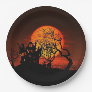 Once Upon A Time Halloween Party Paper Plates