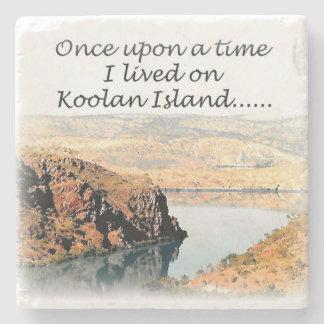 Once upon a time I lived on Koolan Stone Beverage Coaster