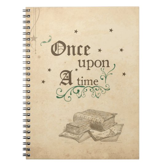 Once Upon A Time Note Book