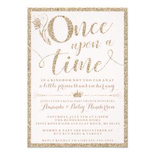 Baby shower invitations announcements zazzle once upon a time princess baby shower invitation filmwisefo
