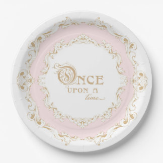 Once Upon a Time Princess Plates 9 Inch Paper Plate