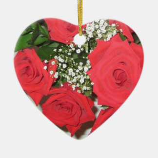 Once Upon a Time... Roses Christmas Ornament