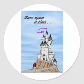 Once Upon a Time Round Sticker