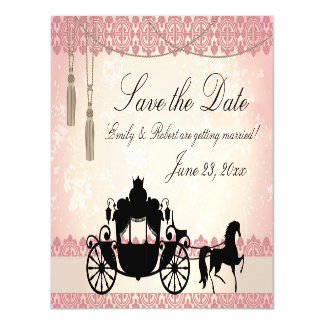 Once Upon a Time Save the Date Magnetic Invitations