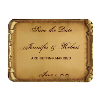 Once Upon a Time Save the Date Flexible Magnet