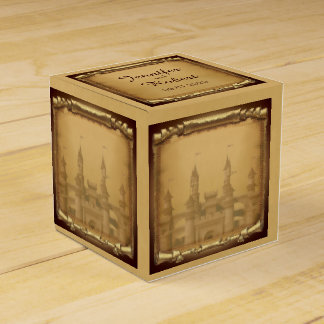 Once Upon a Time Wedding Favor Box