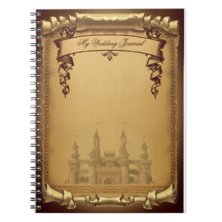Once Upon a Time Wedding Journal Spiral Note Books
