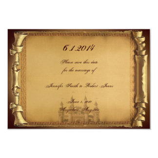 "Once Upon a Time Wedding Save the Date 3.5"" X 5"" Invitation Card"
