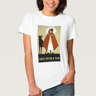 Once Upon a Time - WPA Poster - T Shirts
