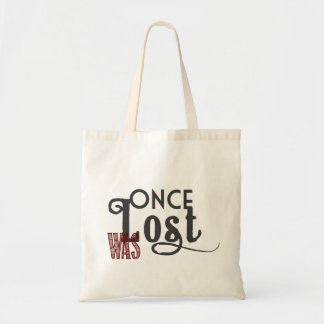 Once Was Lost Tote Budget Tote Bag