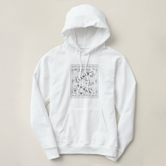 Once You Go Gamer You Never Go Back black on white Hoodie