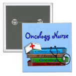 "Oncolgoy Nurse ""Books"" Design Pins"