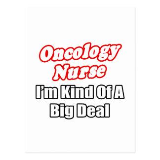 Oncology Nurse...Kind of a Big Deal Postcard
