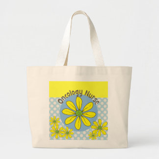 Oncology Nurse Sunflower Tote Bag