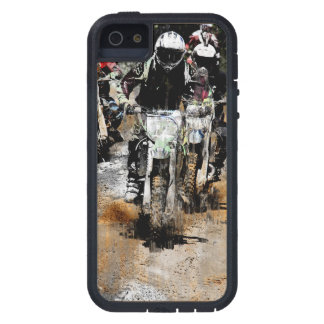 Oncoming! - Motocross Racer Tough Xtreme iPhone 5 Case