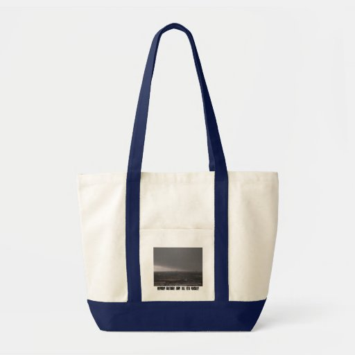 Oncoming Storm Canvas Bag