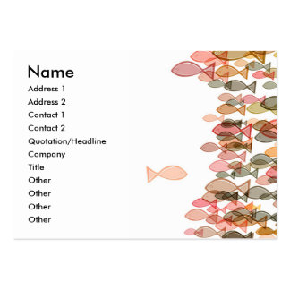 one against many name card template pack of chubby business cards
