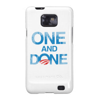 ONE AND DONE Faded.png Galaxy SII Cases