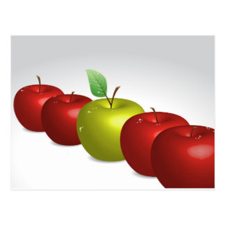 One apple for everyone postcard