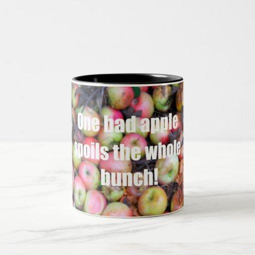 One bad apple... coffee mugs