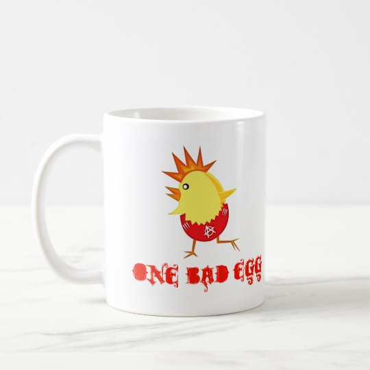 One Bad Egg Punk Rock Easter Chick Coffee