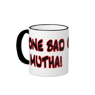one bad mutha! ringer mug