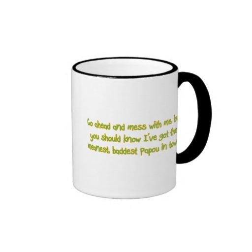 One Bad Papou Mug