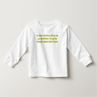 One Bad Vovo Toddler T-Shirt