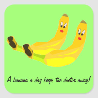 One Banana a Day Sticker