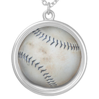 One Baseball Necklaces