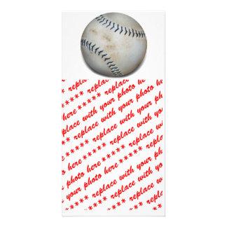 One Baseball Photo Card