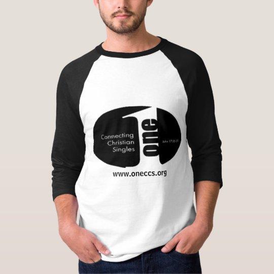 ONE -- baseball T-shirt