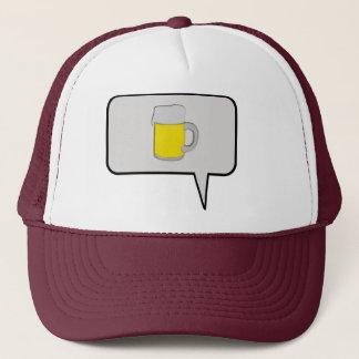 One Beer Speech Bubble Hat