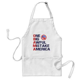 One Big Awful Mistake, America Adult Apron