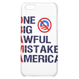 One Big Awful Mistake, America Case For iPhone 5C
