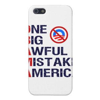 One Big Awful Mistake, America iPhone 5 Cases