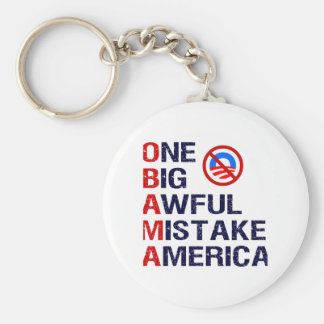 One Big Awful Mistake, America Keychains