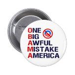 One Big Awful Mistake, America Pin