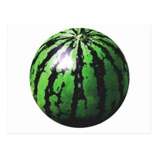 one big watermelon postcard