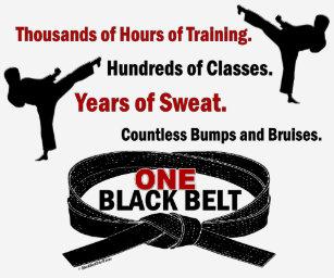 170cb77a1 Black Belt T-Shirts & Shirt Designs | Zazzle UK