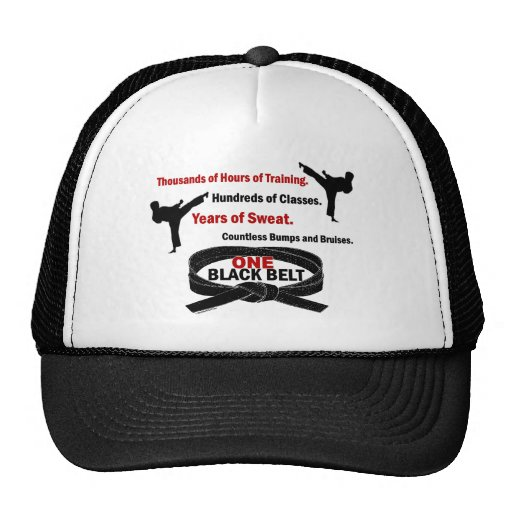 ONE Black Belt 1 KARATE T-SHIRTS & APPAREL Trucker Hat