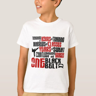 ONE Black Belt 2 KARATE T-SHIRTS & APPAREL