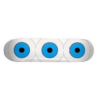 One Blue Eye Custom Skate Board