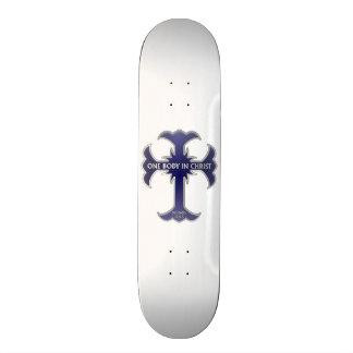 One Body In Christ Skate Board