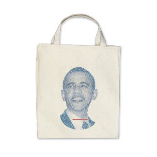 ONE BOLD AMERICAN MAKES A DIFFERENCE TOTE BAG