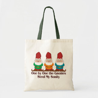 One By One The Gnomes Tote Bag