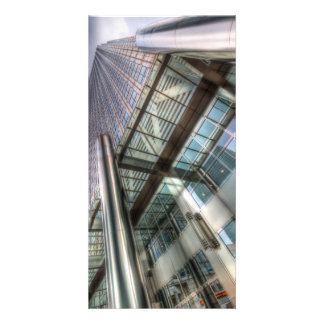 One Canada Square London Customized Photo Card