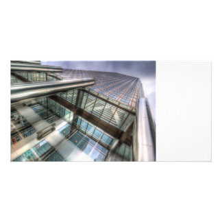 One Canada Square London Photo Card